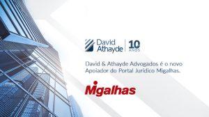 David & Athayde Apoiados do Portal Migalhas